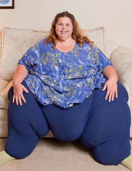 האישה הכי שמנה בעולם