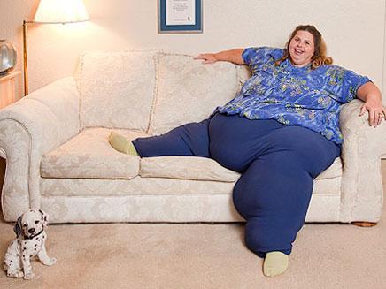הכי שמנה בעולם. פאולין פורטר