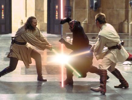 חרב אור , מלחמת הכוכבים (צילום: צילום מסך ,צילום מסך)