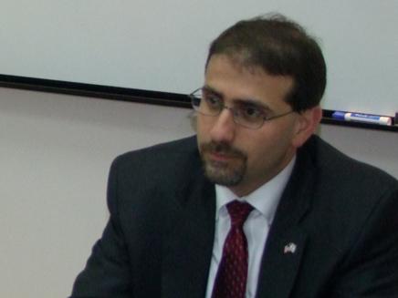 השגריר דן ספירו (צילום: דורון גיסינגר)