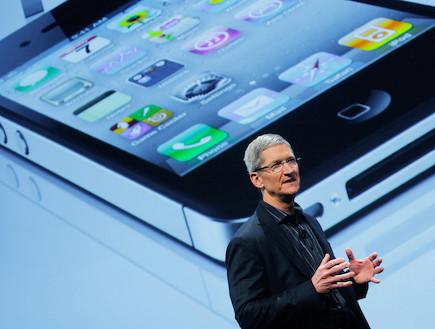 """טים קוק, המנכ""""ל החדש של אפל, מנכ""""ל אפל (צילום: getty images ,getty images)"""