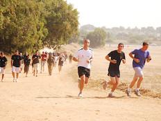 ריצה (צילום: גיא וסרמן ,דובר צה