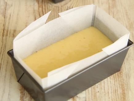 עוגת לימון בתבנית