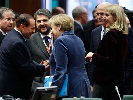 נשקלים צעדי תגובה. פסגת האיחוד האירופי (צילום: רויטרס)
