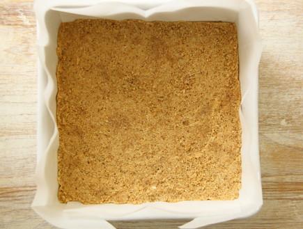 ריבועי גבינה וריבת חלב טוחנים אגוזים