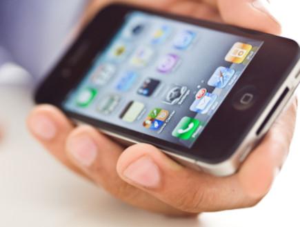 אייפון  (צילום: istockphoto ,istockphoto)