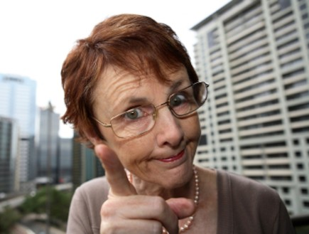 סבתא כועסת (צילום: istockphoto)