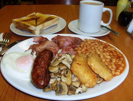 ארוחת בוקר אנגלית - ארוחות בוקר בעולם