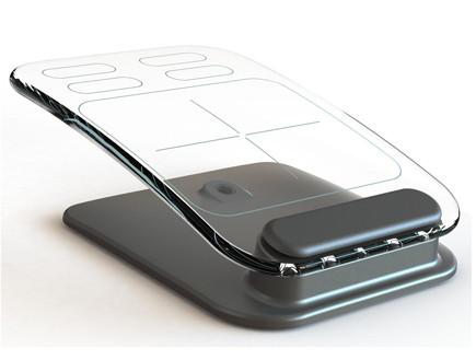 מקלדת ועכבר זכוכית (קרדיט: kickstarter) (צילום: אתר רשמי)