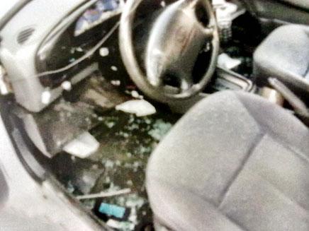 רכבו השבור של נור. סליחה, טעות? (צילום: חדשות 2)