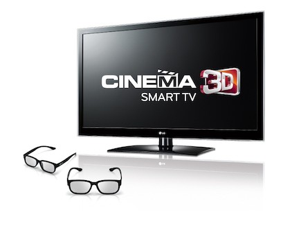 טלוויזיית Cinema 3D LG (יח``צ: לין ממרן ,יחסי ציבור)