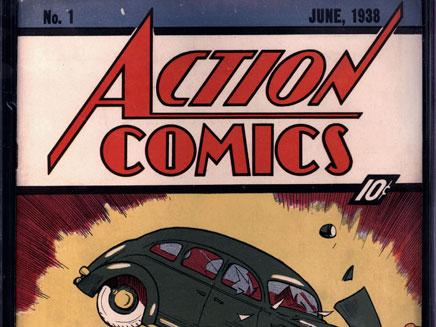 חוברת קומיקס ב-2.6 מיליון ד' (צילום: AP)