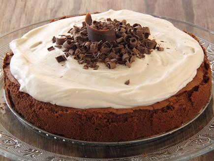 עוגת שוקולד ללא קמח עם קרם קפה 10