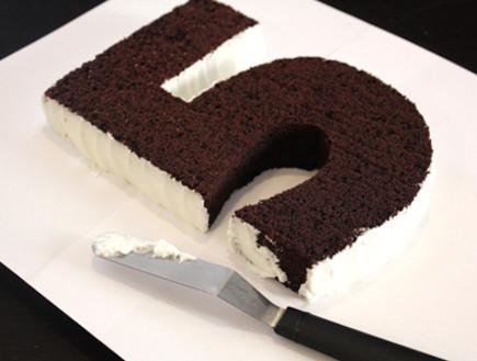 עוגת יומולדת - רמת קושי בינונית, שלב שני