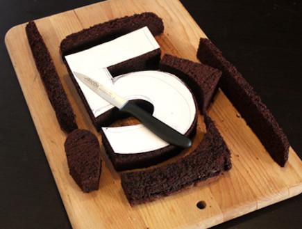עוגת יומולדת - רמת קושי בינונית, שלב ראשון