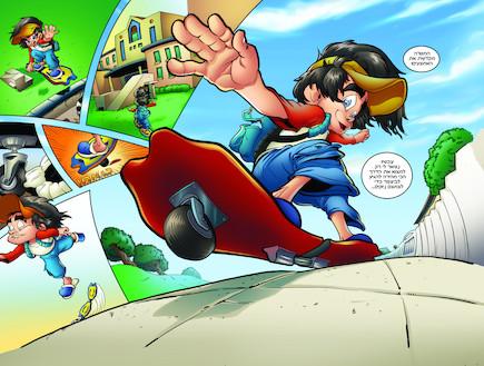 ביפ קומיקס - איך קומיקס נולד 06-07