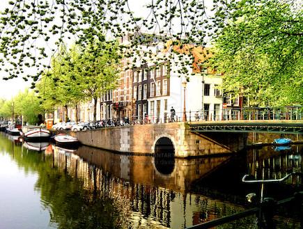 אמסטרדם בבוקר