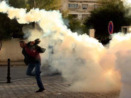 הפגנות בתוניסיה. ארכיון (צילום: רויטרס)