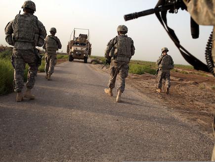 חיילים (צילום: getty images ,getty images)