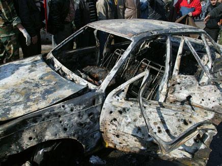 אחת ממכוניות התופת, היום בדמשק