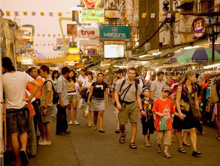 קניות בשוק שופינג צאטוצאק תאילנד