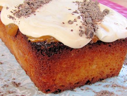 עוגת חלב מרוכז 1 (צילום: דליה מאיר ,קסמים מתוקים)