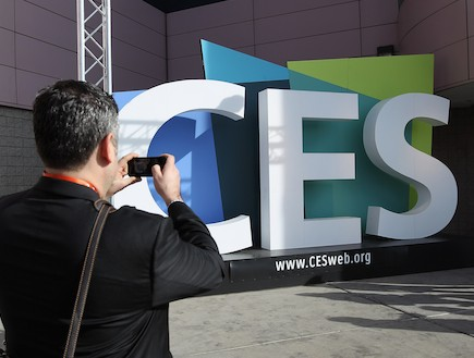 CES 2012, תערוכת האלקטרוניקה הבידורית בלאס וגאס(getty images)