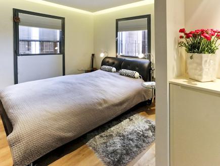 חדר שינה אחרי שיפוץ3 - חלי ישראלי3 (צילום: אורן שלו)