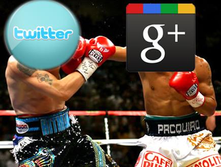 גוגל נגד טוויטר(אילוסטרציה - ארכיון)