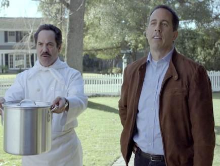 סיינפלד פרסומת סופרבול (צילום: צילום מסך מתוך youtube ,mako)