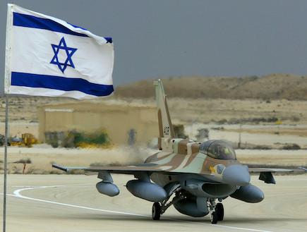 מטוס F-16I (צילום: getty images)