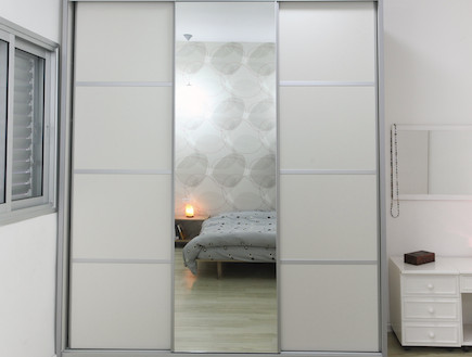 חדר שינה 4 אחרי שיפוץ - חלי ישראלי4 (צילום: אורן שלו)