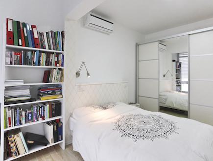 חדר שינה אחרי שיפוץ3 - חלי ישראלי4 (צילום: אורן שלו)