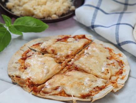 פיצה טורטייה (צילום: אורן שלו ,אוכל טוב)