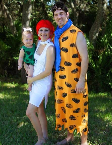 משפחת פלינסטון - תחפושות שוות