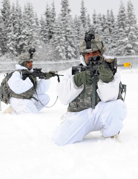 חיילים הודים באלסקה