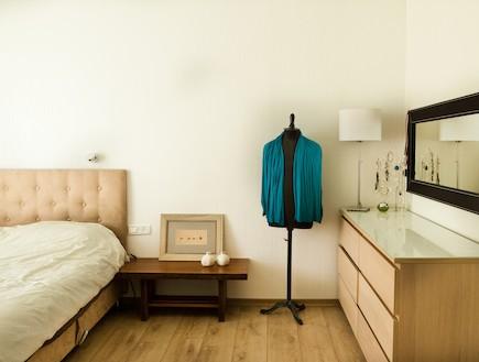 חדר שינה 2 אחרי שיפוץ - אילת כהן (צילום: ליאת כץ)
