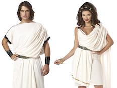 תחפושות זוגיות פורים - יוונים