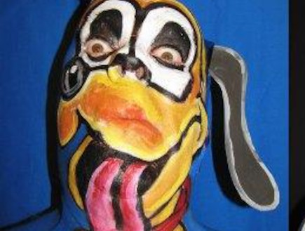 מיוחד לפורים: ציורי הפנים המדהימים של ג'יימס קאן (וידאו WMV: פליקר)