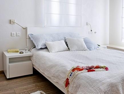 חדר שינה אחרי שיפוץ2 - ענת שמעוני זינגר (צילום: גלית דויטש)