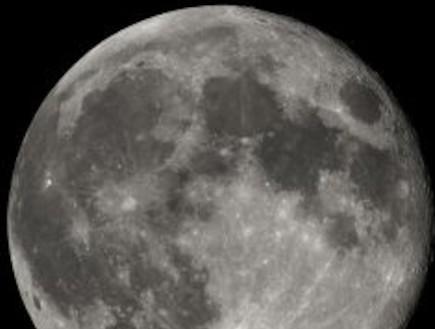 כמות המים בירח דומה לכמות על כדור הארץ (וידאו WMV: ויקיפדיה)