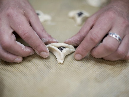 אוזני המן ללא גלוטן (צילום: אפיק גבאי ,אוכל טוב)