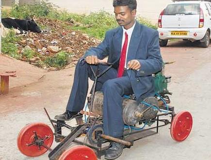 סגוואי לעניים: מכונית האוויר ההודית