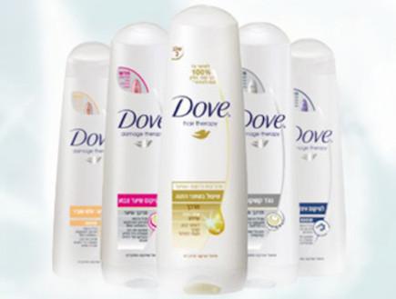 מוצרי שיער של Dove