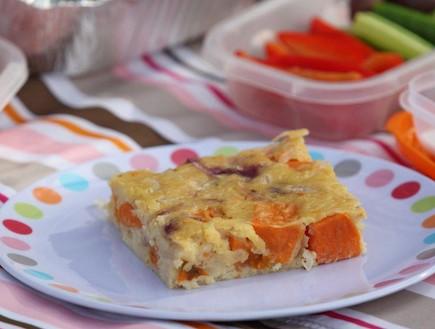 פשטידת גבינות בצל ובטטות (צילום: אורן שלו ,אוכל טוב)