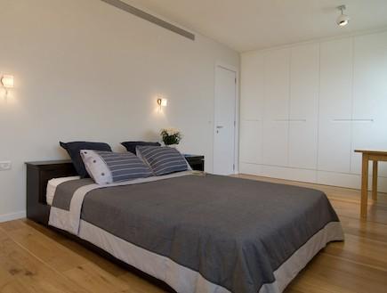 חדר שינה אחרי שיפוץ - שרון קליין2 (צילום: שי בן אפרים)