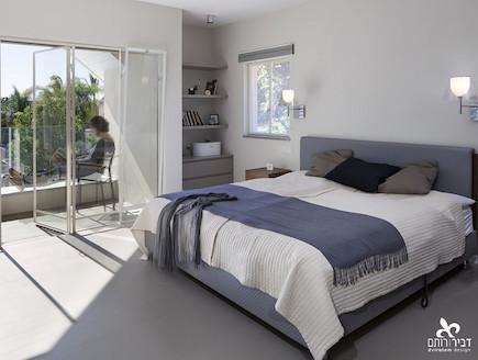 חדר שינה אחרי שיפוץ - ליאת דביר רותם1 (צילום: שי אפשטיין)