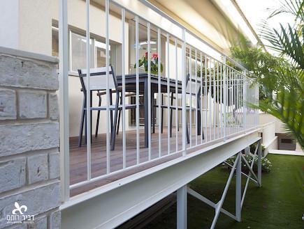 המרפסת אחרי שיפוץ2 - ליאת דביר רותם 1 (צילום: שי אפשטיין)