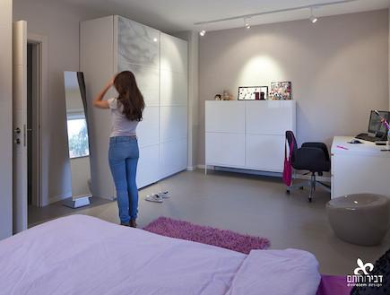 חדר נערה אחרי שיפוץ - ליאת דביר רותם1 (צילום: שי אפשטיין)