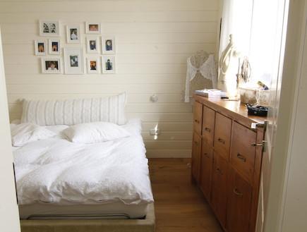 חדר שינה הורים אחרי שיפוץ - אמיר גולן (צילום: ארז מלמד)